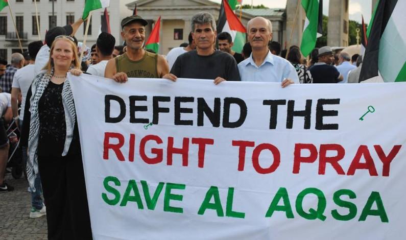 برلين مشاركة شعبنا المرابط في القدس