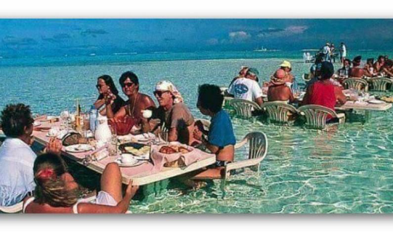 متعة الشمس الحارة تجدها في جزر المالديف ………..