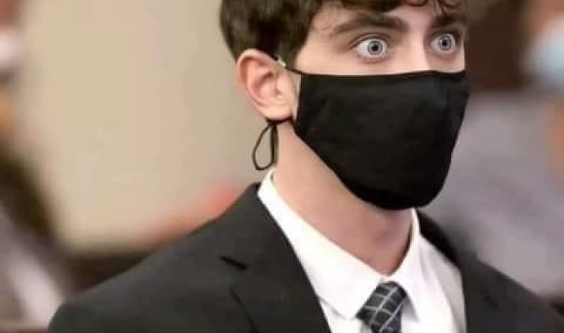 #كاميرون هيرون هو شاب امريكي صدم عند تلقيه حكم المحكمة ٢٤سنة لصدمه إمرأة و رضيعها