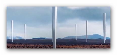 الطاقة مستقبلا : عنفة رياح دون شفرات لتوليد الطاقة
