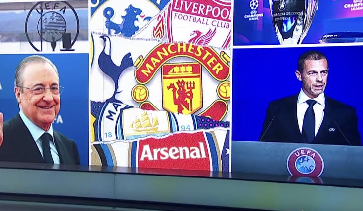 """إعلان  انقسام حاد ل 12 نادي من النوادي الأوروبية الكبرى لإطلاق دوري مستقل انفصالي اسمه """"سوبر"""" لكرة القدم الأوروبي"""